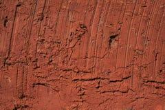 Vecchio mattone dell'argilla Fotografia Stock