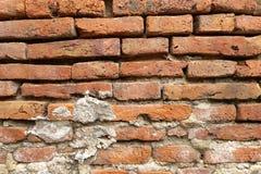 Vecchio mattone della parete Immagini Stock