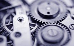 Vecchio meccanismo dell'orologio Fotografie Stock Libere da Diritti