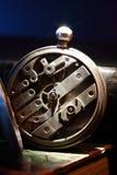 Vecchio meccanismo dell'orologio Immagine Stock