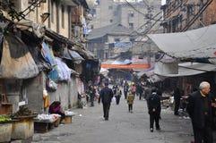 Vecchio mercato Fotografie Stock Libere da Diritti