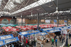Vecchio mercato di Spitalfields Immagini Stock Libere da Diritti