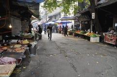 Vecchio mercato di verdure Fotografia Stock Libera da Diritti