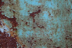 Vecchio metallo arrugginito Fotografia Stock