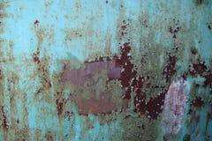 Vecchio metallo arrugginito Fotografie Stock Libere da Diritti
