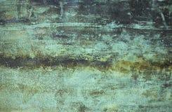Vecchio metallo verniciato Fotografia Stock