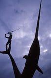 Vecchio metodo di pesca Immagini Stock Libere da Diritti