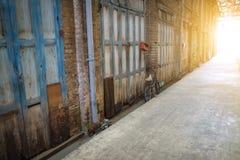 Vecchio minburi della città fotografia stock libera da diritti