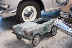 Vecchio mini modello dell'automobile Fotografia Stock Libera da Diritti
