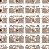 Vecchio modello della macchina fotografica Immagine Stock