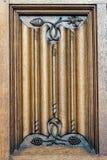 Vecchio modello di legno in signore, Fiandre, Belgio Fotografia Stock Libera da Diritti