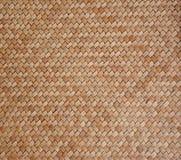 Vecchio modello di legno tessuto Fotografia Stock Libera da Diritti
