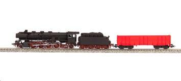 Vecchio modello di loco del vapore Fotografia Stock