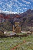 Vecchio monastero in Armenia Fotografie Stock