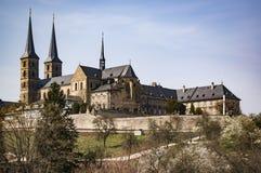 Vecchio monastero a Bamberga Fotografie Stock
