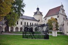 Vecchio monastero, città Olomouc, repubblica Ceca, Europa fotografia stock libera da diritti