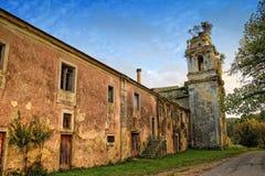 Vecchio monastero a Coimbra Portogallo Fotografia Stock Libera da Diritti