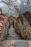 Vecchio monastero di Georgia Immagine Stock