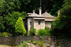 Vecchio monastero di pietra Fotografia Stock Libera da Diritti
