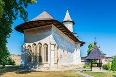 Vecchio monastero di Probota fotografia stock