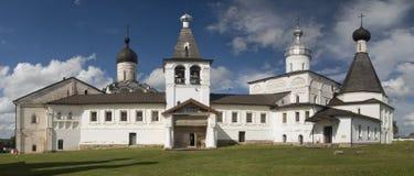 Vecchio monastero in Ferapontovo immagine stock
