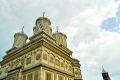 Vecchio monastero ortodosso Fotografia Stock