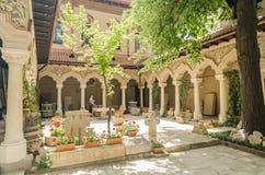 Vecchio monastero ortodosso Fotografia Stock Libera da Diritti
