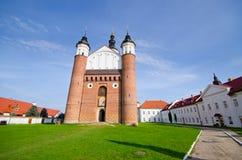 Vecchio monastero in Suprasl, Polonia Immagine Stock