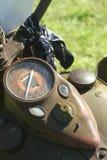 Vecchio motociclo Immagini Stock