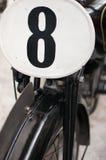 Vecchio motociclo Fotografie Stock