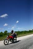 Vecchio motociclo Immagine Stock
