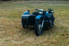Vecchio motociclo russo Immagini Stock Libere da Diritti