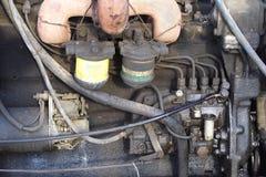 Vecchio motore Fotografia Stock Libera da Diritti