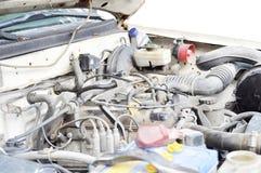 Vecchio motore di automobile Immagine Stock