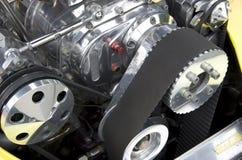 Vecchio motore di automobile Fotografia Stock
