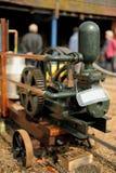 Vecchio motore diesel Fotografia Stock Libera da Diritti