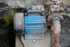 Vecchio motore elettrico fotografie stock libere da diritti