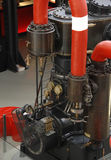 Vecchio motore a vapore immagine stock libera da diritti