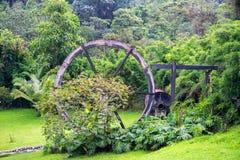 Vecchio mulino a acqua in Colombia Fotografie Stock Libere da Diritti