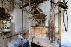 Vecchio mulino da grano III Immagini Stock Libere da Diritti