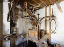 Vecchio mulino da grano IV fotografia stock