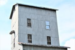 Vecchio mulino del passato Fotografia Stock
