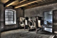 Vecchio mulino di HDR fotografie stock libere da diritti