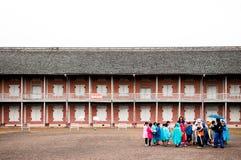 Vecchio mulino di seta di Tomioka, Takasaki, Gunma, Giappone Fotografia Stock
