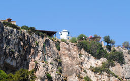 Vecchio mulino in Grecia Fotografia Stock Libera da Diritti