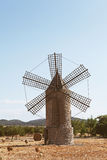 Vecchio mulino in Mallorca Fotografie Stock