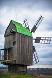 Vecchio mulino ucraino fotografie stock