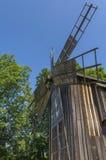 Vecchio mulino a vento Fotografia Stock