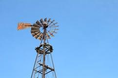 Vecchio mulino a vento Immagini Stock