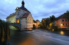 Vecchio municipio di Bamberga Germania Fotografie Stock Libere da Diritti